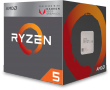 Ryzen 5 2400G 3.6GHz 65W 4C/8T AM4 APU with Radeon Vega 11 Graphics