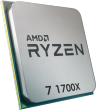 Ryzen 7 1700X 3.4GHz 95W 8 Cores 16 Threads 16MB Cache AM4 CPU