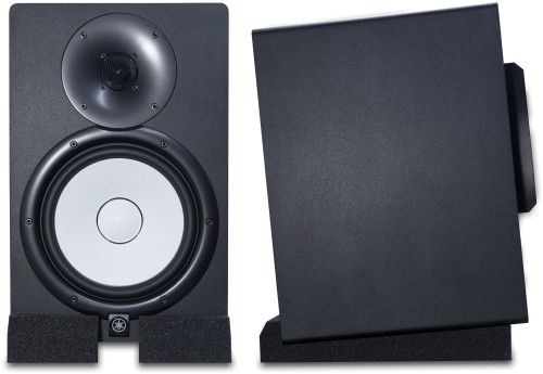 Shown supporting Yamaha HS8 Studio Monitors