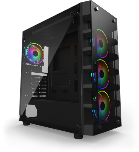 The Gelid Black Diamond ATX Chassis