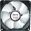 Gelid Silent 8, 80mm Quiet Case Fan