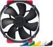 NF-A15 HS-PWM chromax.black.swap 12V 1500RPM 140mm Fan