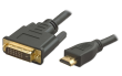 HDMI to DVI 1.8m Monitor Cable