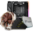Quiet PC AMD CPU and mini-ITX Motherboard Bundle